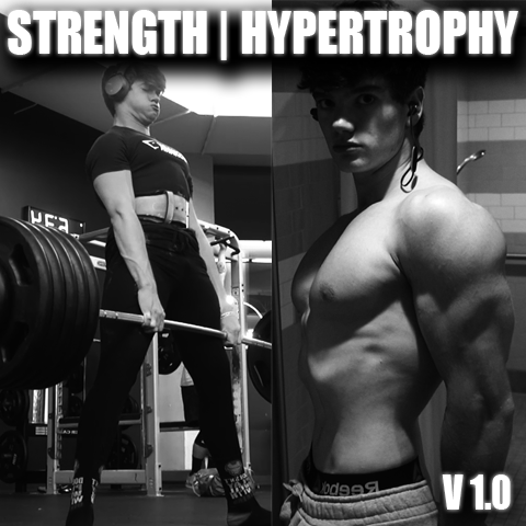 strength  hypertrophy hybrid training program 10  max